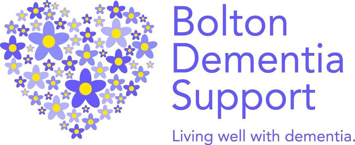 I was delighted to be asked to design the new logo for a great Bolton Charity #BoltonDementiaSupport. You may have seen this around if you are in Bolton.  #logodesign #dementia #charity