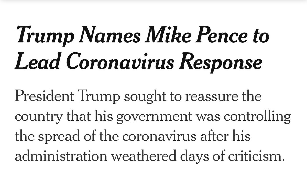 Don't worry boys, we don't need the cdc when we have Mike Pence to rebel against the coronavirus pic.twitter.com/aRqtzxwnHW