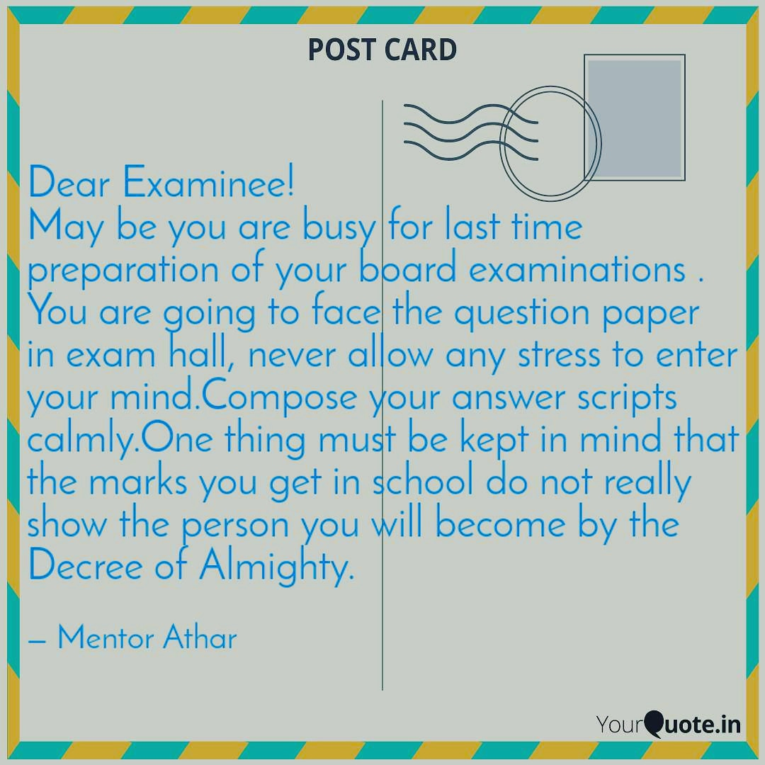 #yqletter #yqstudent #yqinspiration #Yourquotes  #Exam #Examination  #ExamTime  #mentorathar   Facebook Page : https://www.facebook.com/mentorathar/  Follow me on Instagram! Username: mentorathar https://www.instagram.com/mentoratharpic.twitter.com/jCsgHC1Cl2