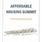 Image for the Tweet beginning: There's an affordable housing summit
