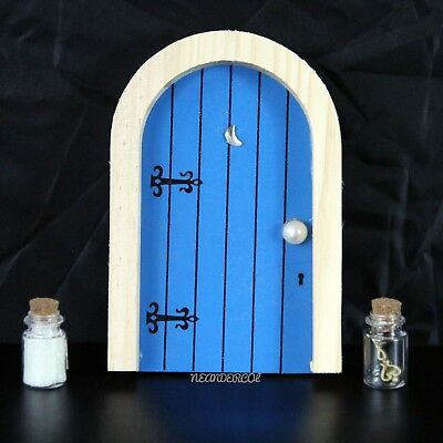 #Blue #Fairy #Faerie #Elf #Adventure #Door with #Magic Dust and Magic #Key on #eBay for #children   ed