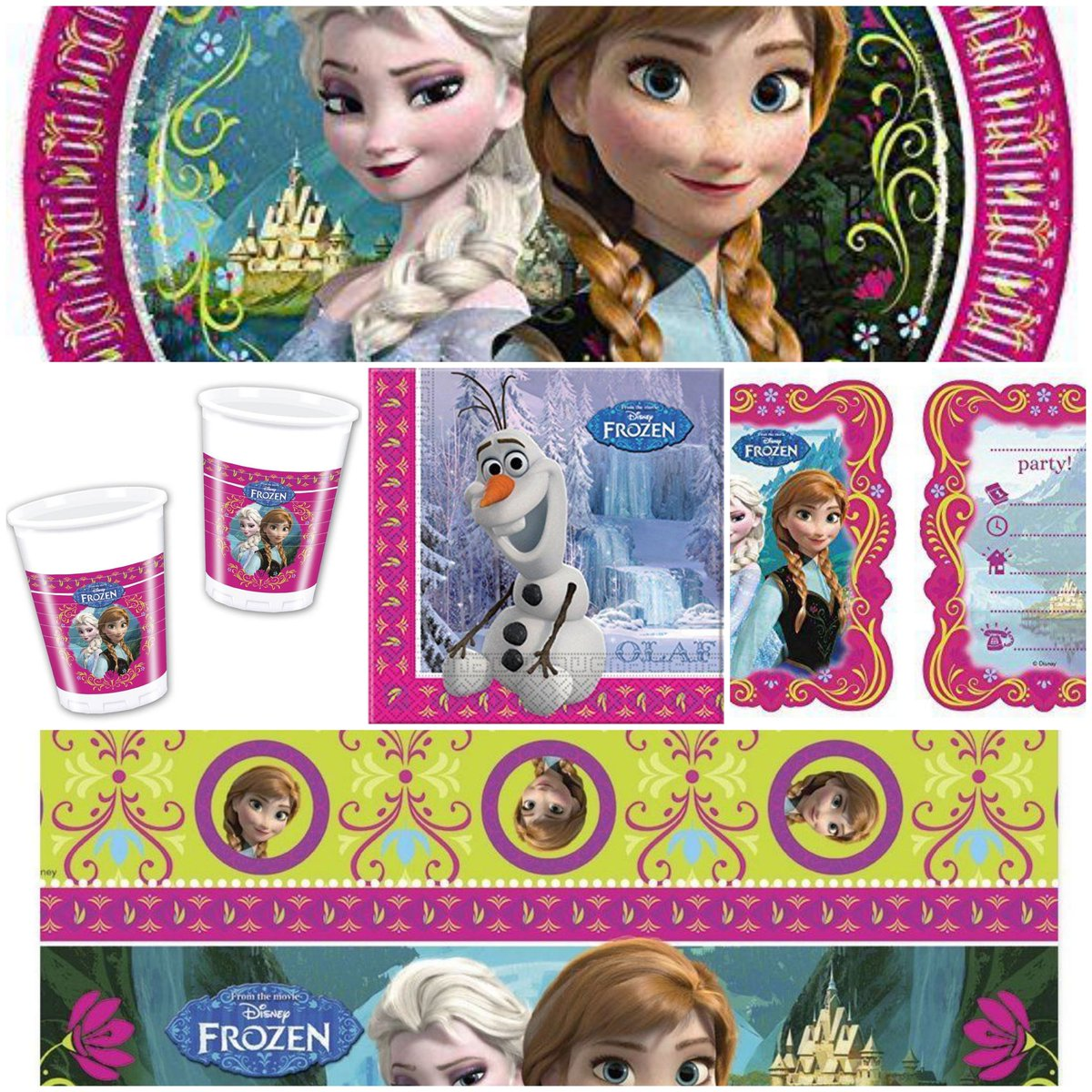 Disney Frozen Party Supplies...Banners, Invites, Plates, Cups, Napkins and more! FREE UK Delivery on Orders Over £25! https://totallytoytastic.com/collections/disney-frozen-party-supplies… #giftideas #gifts #party #birthdayparty #birthday #Disney #Frozen #Frozen2 pic.twitter.com/1oKnq4Wa9p