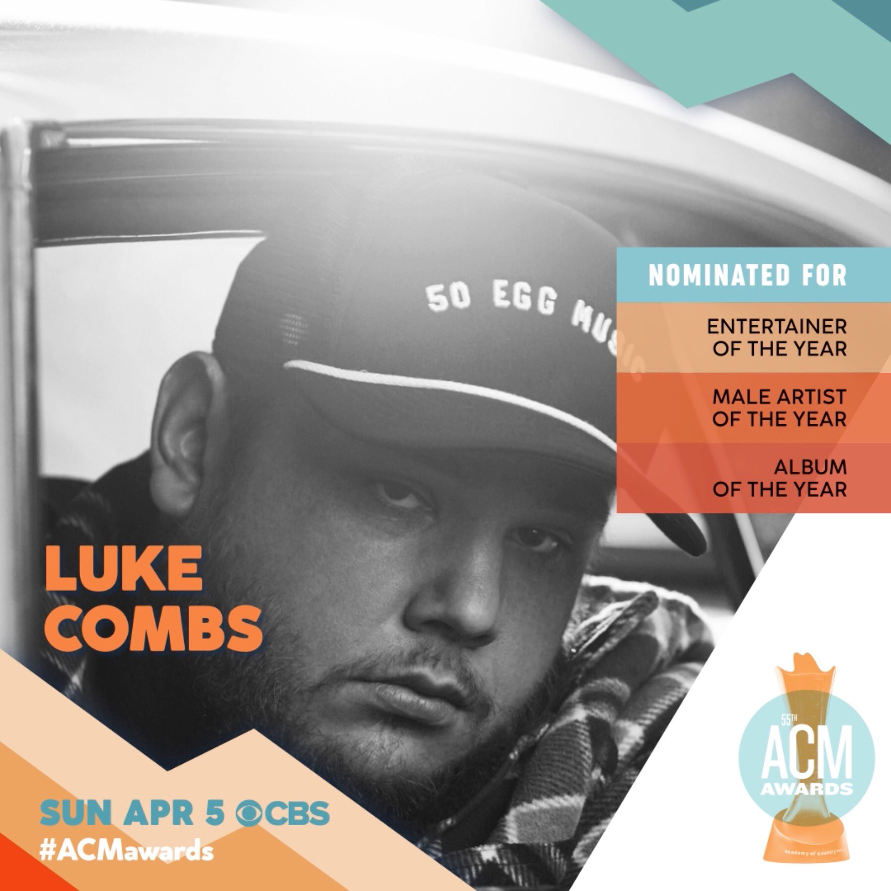 Luke Combs On Twitter Thanks To My Stellar Team The Fans My Family Friends Country Radio And The Acmawards For This Crazy Ride We Re On See Y All In April Https T Co 6qotxj4tjx