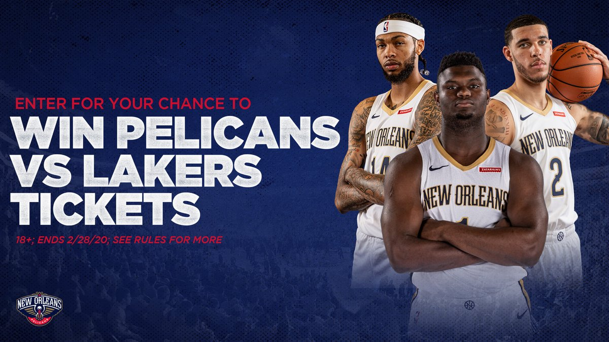 Sign up for a chance to win 2 tickets to the Pelicans-Lakers game on March 1! ->   #WontBowDown