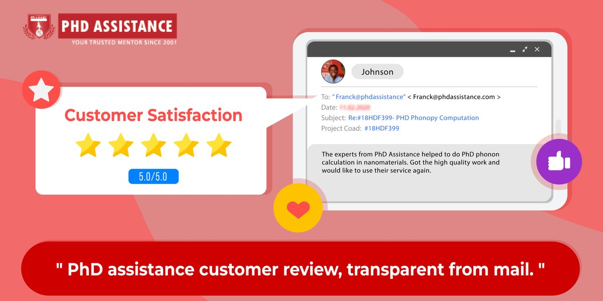 Happiness is Sharing Client Testimonials !  New 5 Star Customer Review on Phd phonopy computation    http:// bit.ly/359dW1k       #phd #phdjournal #phdphonopy#phdadvice #phdlife #phdchat #phdforum #Phdjourney #Phdstudent #Phdstudentlife #phdassistance <br>http://pic.twitter.com/cjsDrafCxA