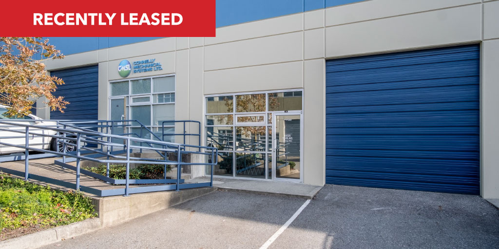 ✔️ #JustLeased: 120-18525 53rd Avenue, #Surrey  Features a reception area, a private office, a showroom area, and H/C washroom. Mainly an open plan layout.  Basic Rent: $13.50/foot Additional Rent: $2.98/foot Size: +/- 3,461 SQFT Type: #Industrial Agent: Chris van Vliet