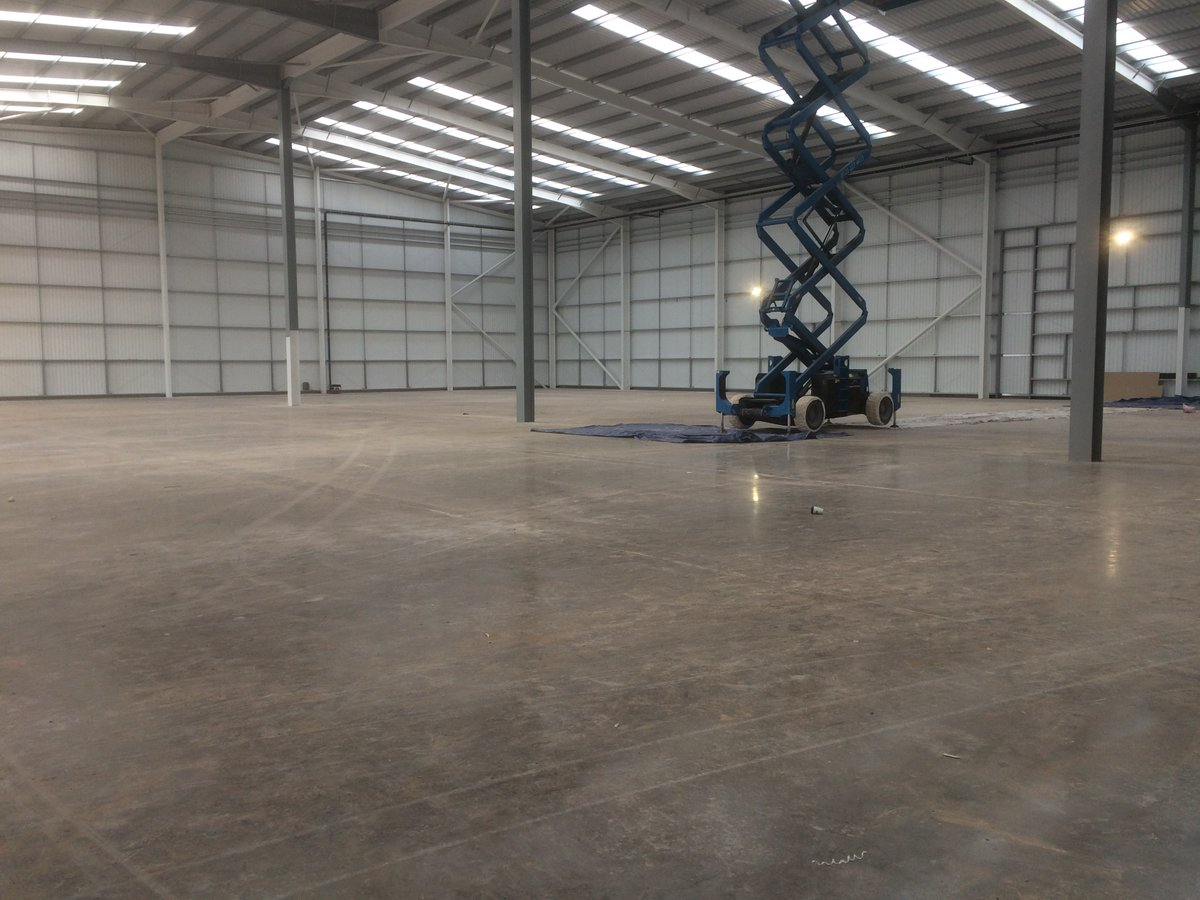 Dropped in at #Granite40, #Birminghambusinesspark, today. The 39,405 sq ft #industrial, #warehouse, R&D unit completes in #March. Close to the #m6 and #m42 motorways it is benefits from great road links. #Birminghamairport is only two and half miles away. @JLLChrisClark