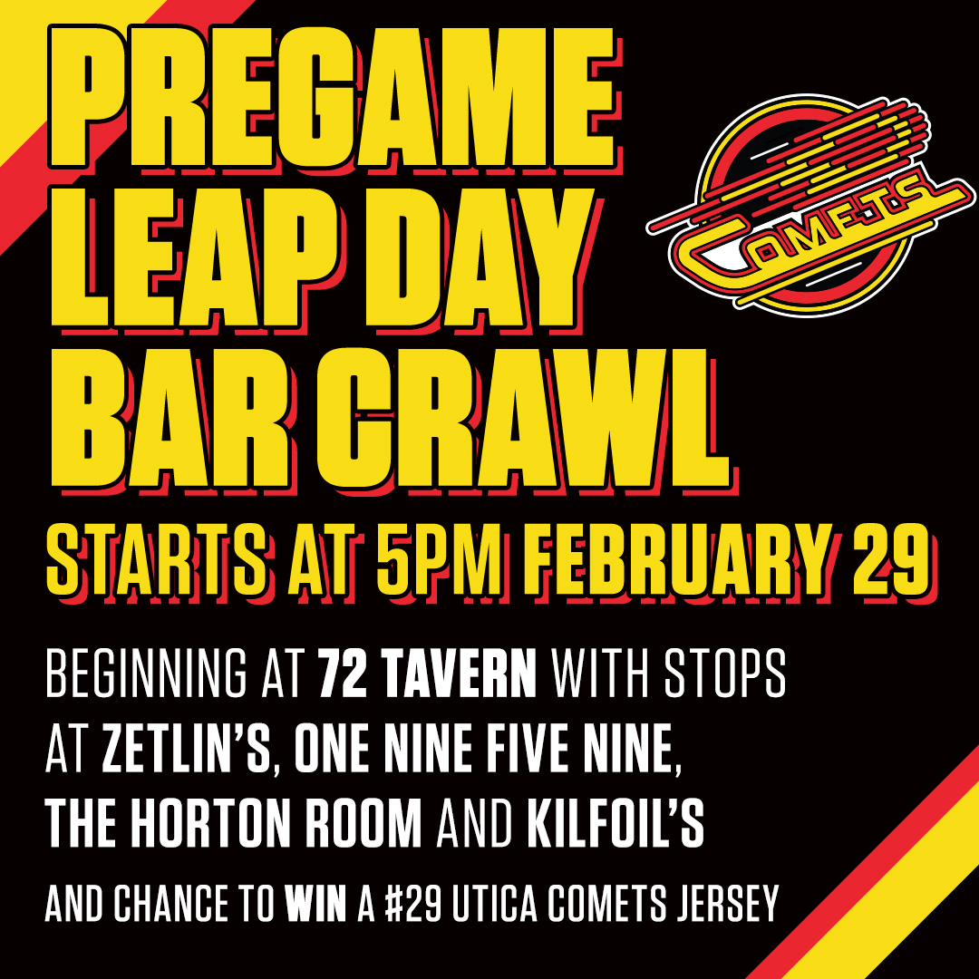 We get an extra day this year, why not party? Get here early on Saturday for our Leap Day Bar Crawl!