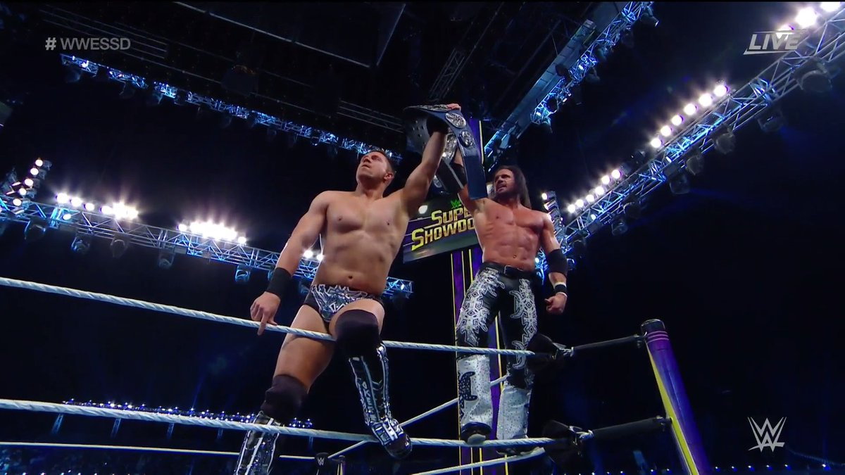 New SmackDown Tag-Team Champions Crowned At WWE Super ShowDown (Photos)