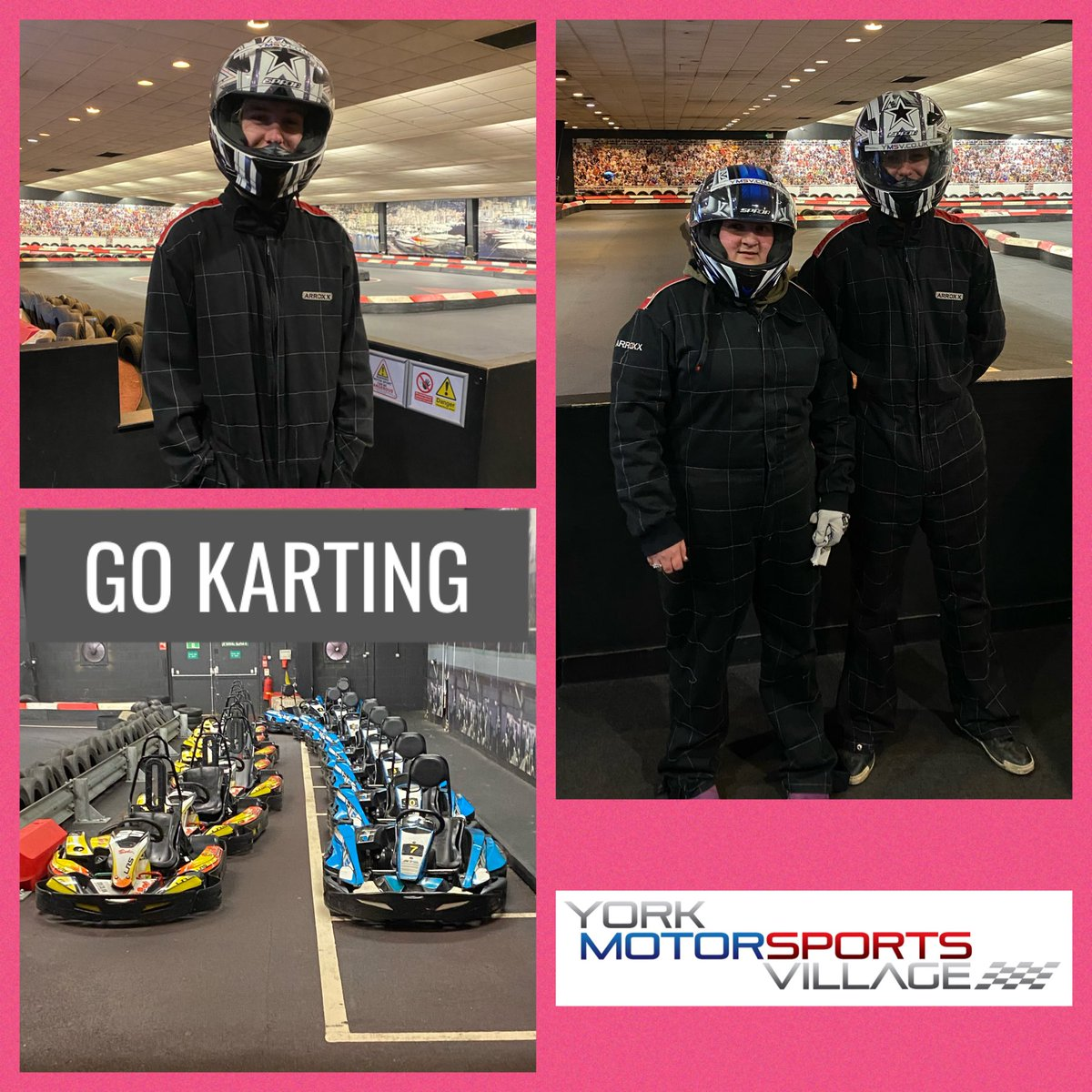 Today residents from Malton Ryedale YMCA went Go Karting. It was very competitive but a great challenge! #ryedaleymca #gokarting #dayout #youngpeople @YMCAEng_Wales @Foundation___pic.twitter.com/xWK6OynZu0