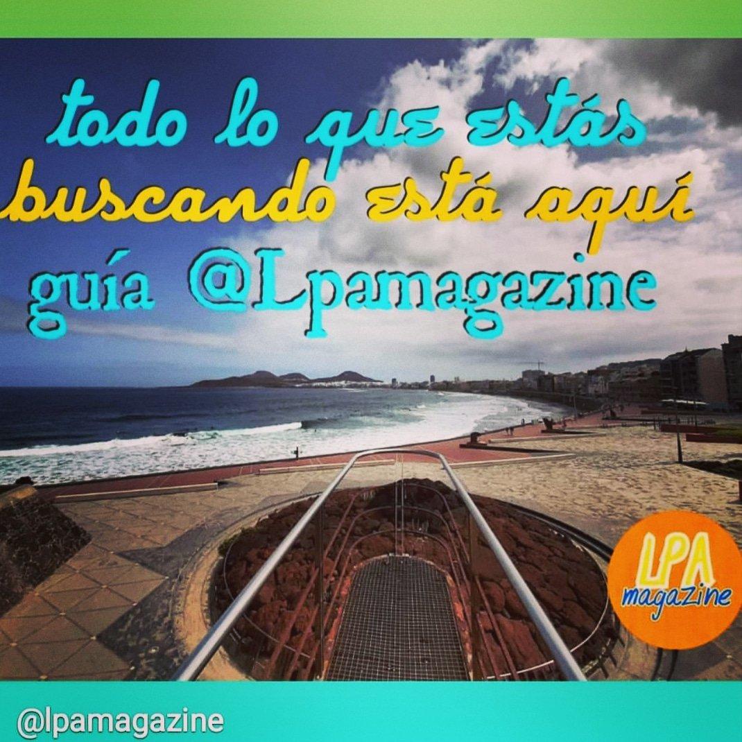 http://Lpamagazine00.blogspot.com!! #grancanaria #canaryislands  #comercios #Empresas AQUÍ!!pic.twitter.com/GA43BLIe5Z