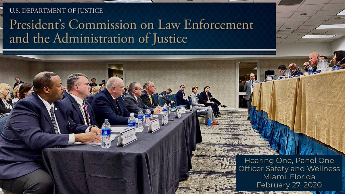 The FOP leads the way in representing law enforcement across this country.  President Yoes and FOP leaders at the President's Commission on Law Enforcement and the Administration of Criminal Justice. #FOPStrong<br>http://pic.twitter.com/T2BohZuE1w