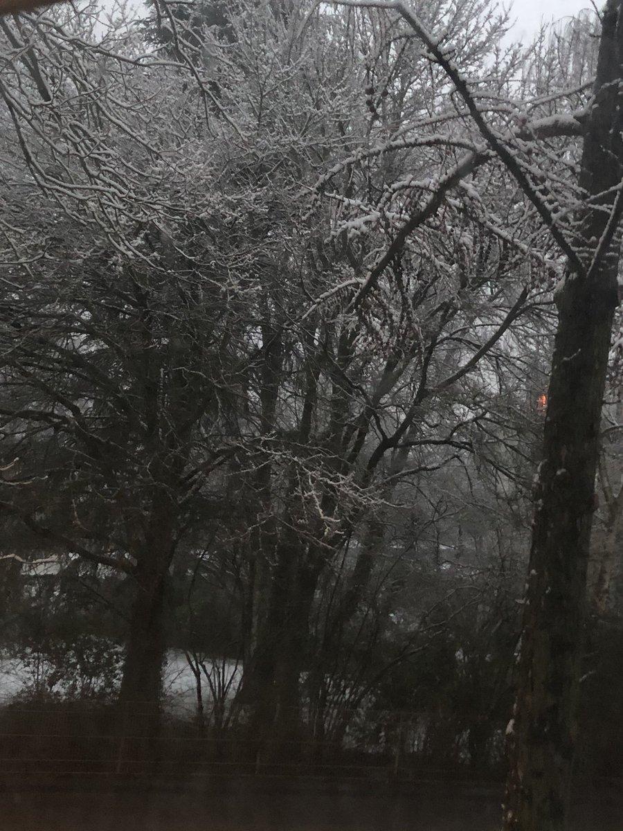 Abendstimmung, Es schneit! Schönen Abend wünsch ich Euch! pic.twitter.com/ORyxTjsGPf