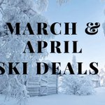 Image for the Tweet beginning: Last minute offers from SkiAmis,