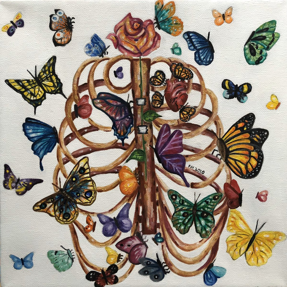 Hi I'm Kiana, I oil paint and I love nature pic.twitter.com/e0SH3tH2CG