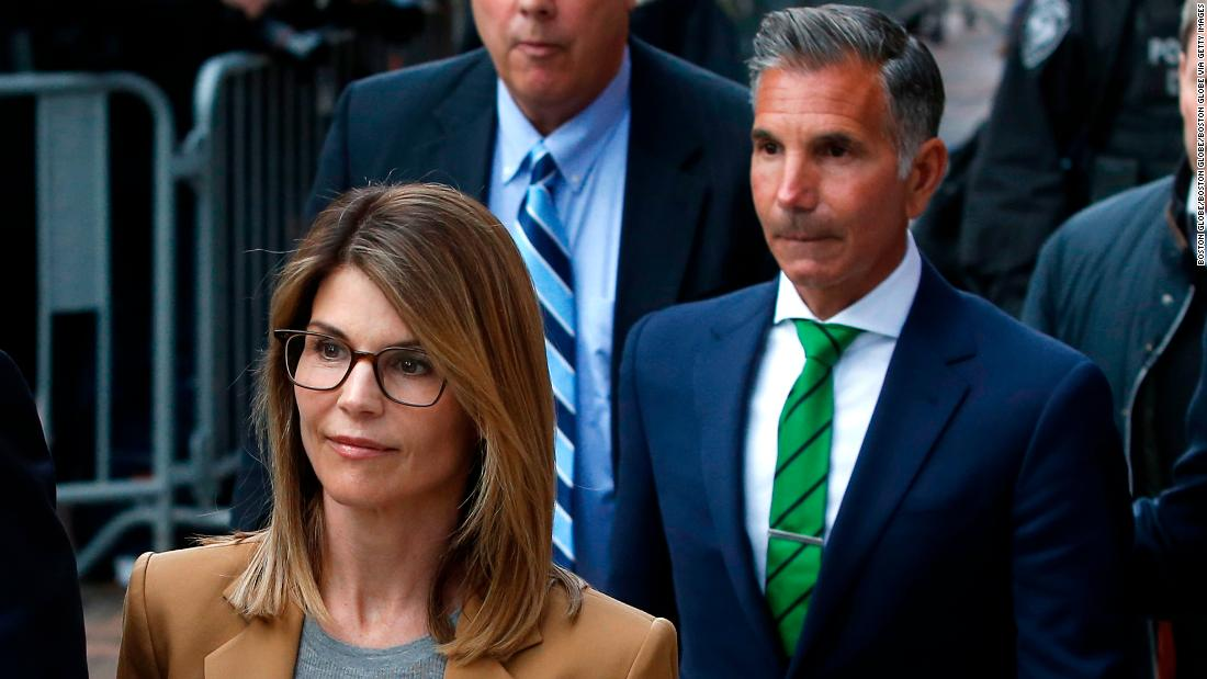 Lori Loughlin and her husband, Mossimo Giannulli, are expected to stand trial starting October 5 on charges related to the college admissions scam https://cnn.it/2Tet88c