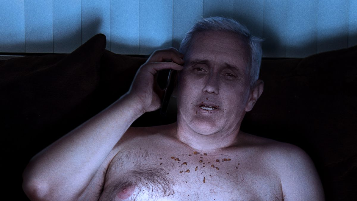 'Whatavirus?' Says Half-Naked Mike Pence Brushing Crumbs Off Stomach While Taking First Call From Trump In 18 Months https://trib.al/5HN96sW