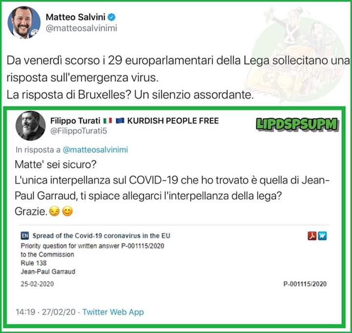 #CODVID19italia