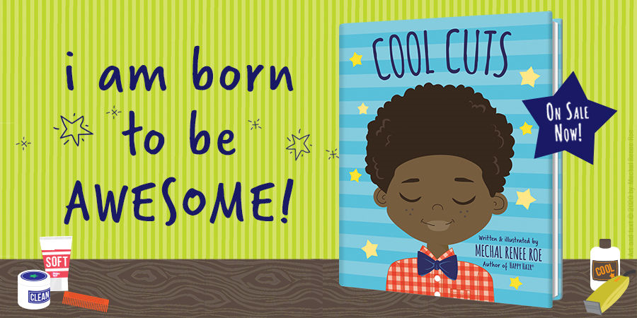 """Boys and their cool, natural hair are celebrated in this bright, joyful read-together picture book from @randomhousekids that will have kids everywhere chanting the book's chorus: """"I am born to be awesome!""""  Shop this title today: https://bit.ly/3ac7dWo pic.twitter.com/R8V3zu6jIc"""