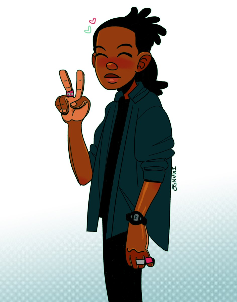 #drawingwhileblack hey it's me  im an illustrator based in RVA (& sometimes PG) and i'm into comics, character design, rainbows, and pastels! currently working on my own comic series & dreaming of living in my own pastel glittery dream world <br>http://pic.twitter.com/oGse1juc6N