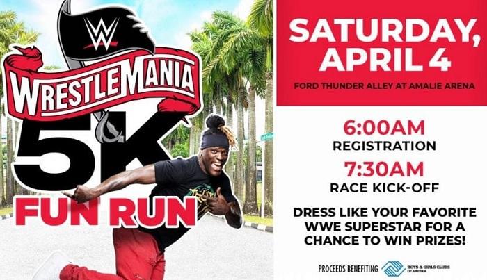 WrestleMania 5k Fun Run Announced To Benefit Boys & Girls Clubs Of America