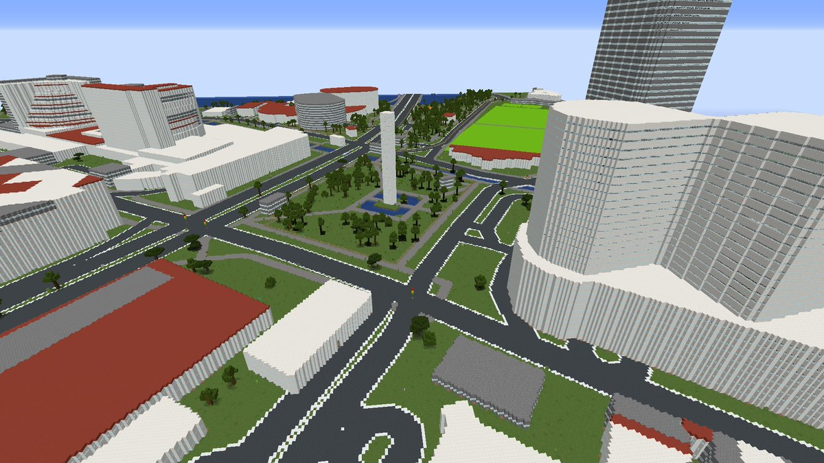 Singapore in Minecraft  Make your own: https://geoboxers.com/worldbloxer  #Minecraft #Earth #world #MinecraftEdu #OpenData #OpenStreetMap #data #geography #maps #3d #travel #landscape #citiy #explore #education #View #cocreation #fun #game  #Singapore #Asia #visitsingapore #singaporetravelpic.twitter.com/kmdbZswlRO
