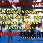 Image for the Tweet beginning: #deliveringperformance #tradeshows #freight #shipping #expo