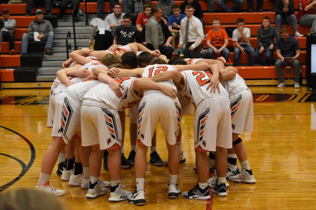 Huddle up  BOYS SUB-DISTRICT BASKETBALL GAME TONIGHT!! The game is at Centura vs. Heartland Lutheran and tip off is at 7. Come cheer on and support your Hornets! #HornetHype<br>http://pic.twitter.com/DhUeEjUYdL
