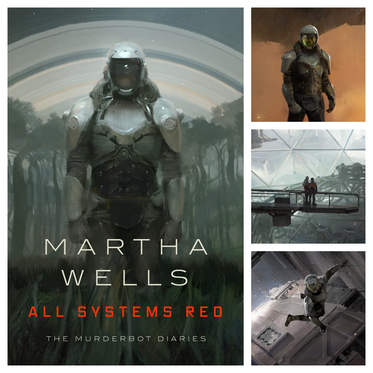 🤖 Five Things You Don't Know About the Murderbot Diaries from @marthawells1:https://marthawells.dreamwidth.org/511317.html