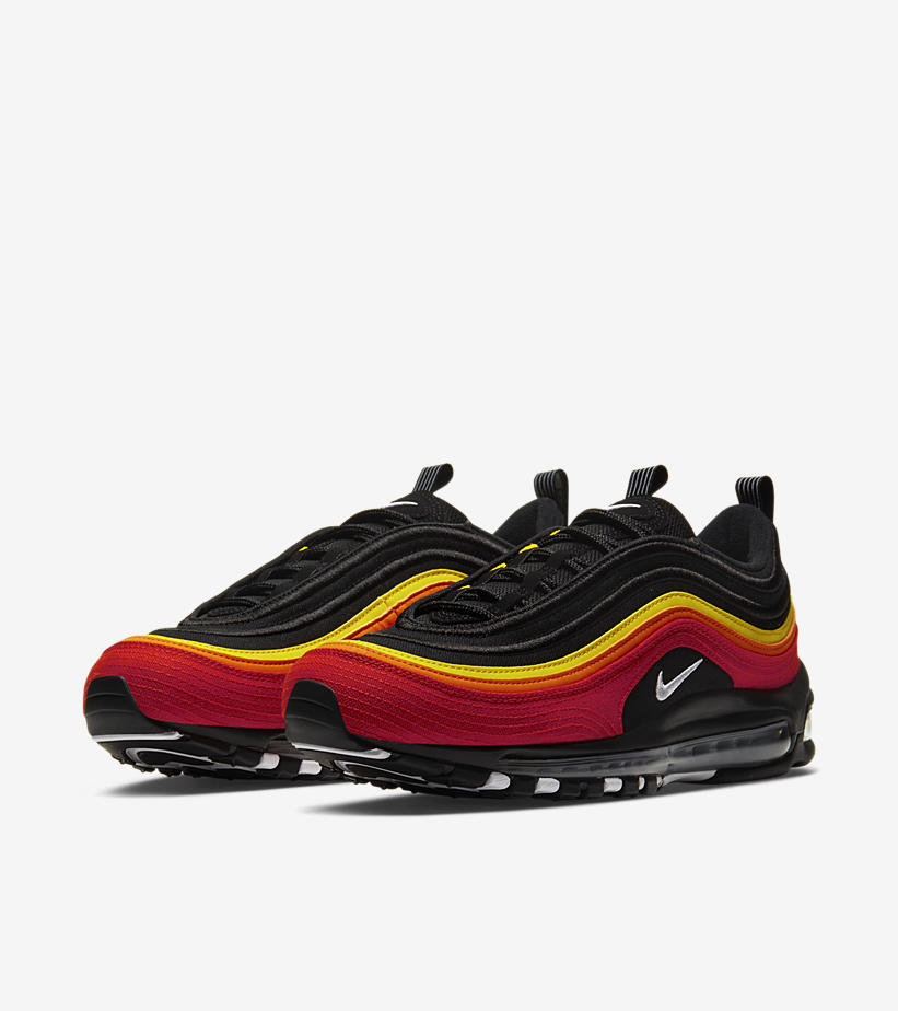 Sole Links On Twitter Ad New Nike Air Max 97 Black Red Yellow Dropped Via Shoe Palace Https T Co Khsaxwgiei