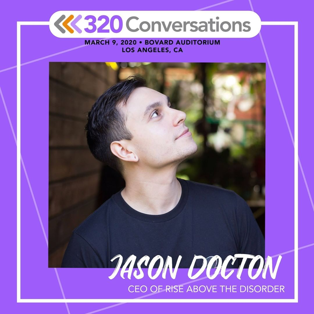 We're so excited to have our founder, @JasonDocton speaking at @320festival's announcement event on March 9th at @USC's Bovard Auditorium. Jason will be joined by @kenjeong & @Blueoctoberband.pic.twitter.com/RTQuvYAOIw