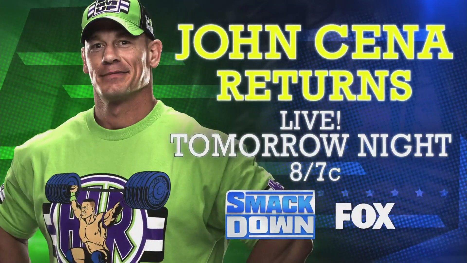 WWE Smackdown Preview (28/02/20): John Cena Returns; Super Showdown Fallouts 1