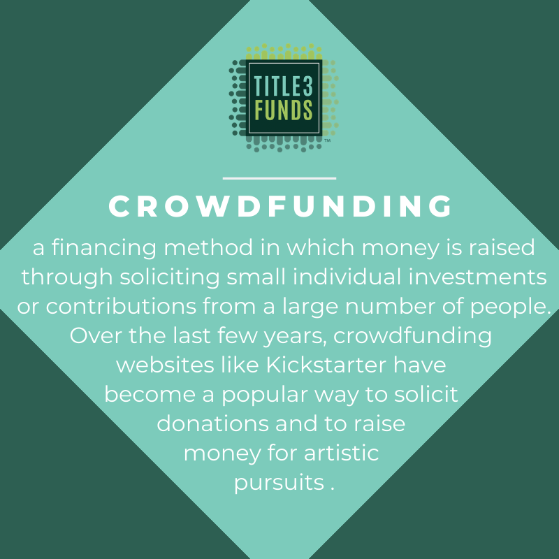 Need funding for your project or business? Check out or website! http://www.title3funds.com   #startupworld #startupadvice #smallbusiness #investingtips #investing101 #startuplife #entrepreneurship #equitycrowdfunding #innovation #startupideas #title3fundspic.twitter.com/bPvN0oXOZ1