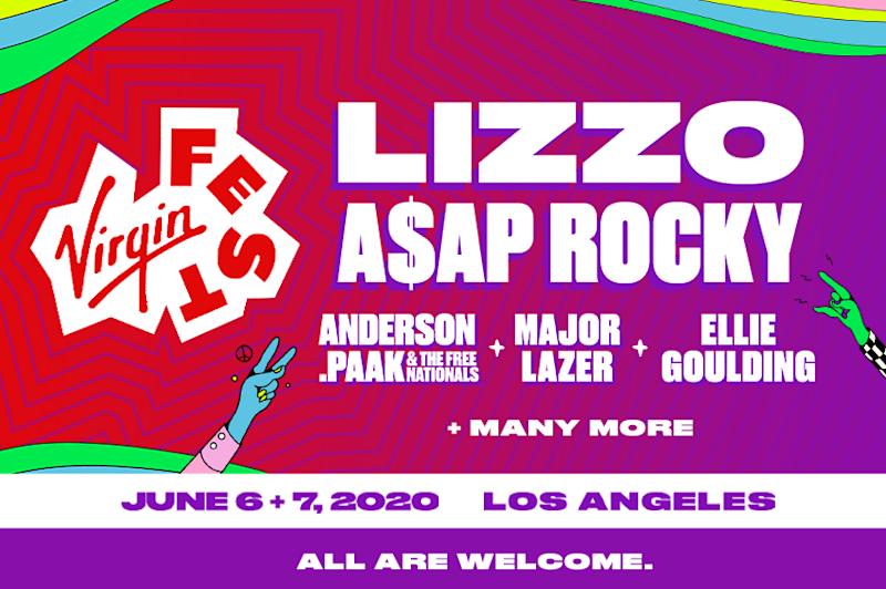 Virgin Fest 2020 lineup