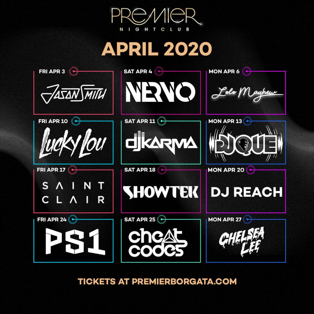 April 🍾 Showers here we come! @nervomusic, DJ Karma, @showtek, @CheatCodesMusic, and more are Atlantic City bound this spring. Tickets on sale now at https://t.co/6eknjpNAww https://t.co/1MRjpB1diz