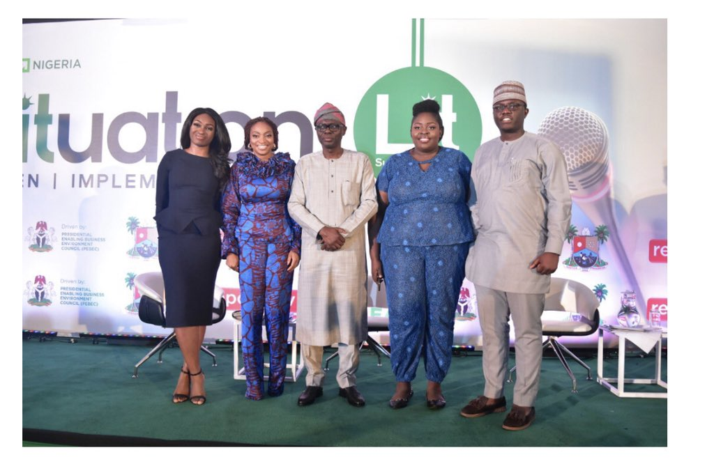 LITuation is to Listen, Implement and Track. We started with a kickoff event in Lagos on Oct 10 with about 500 entrepreneurs pic.twitter.com/JrPzV7oF2o