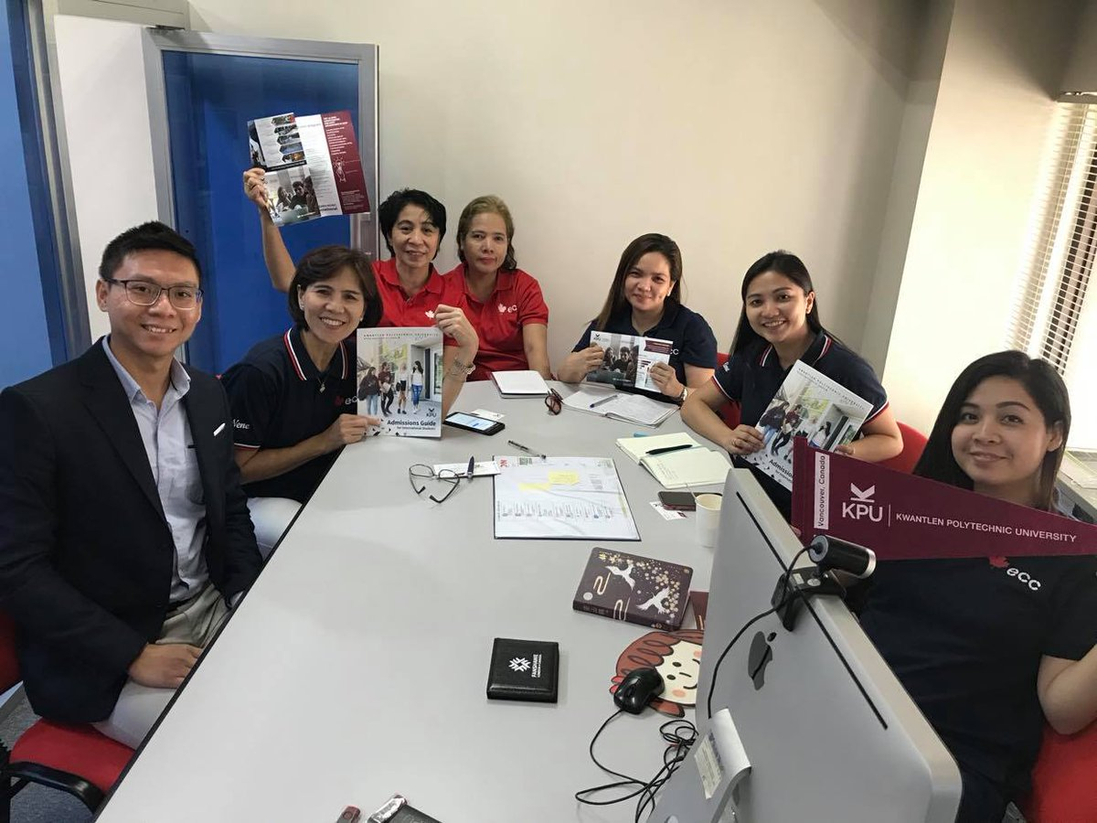 KPU visits ECC Philippines office!  Thank you for your visiting us! pic.twitter.com/VIsqc8nH9x