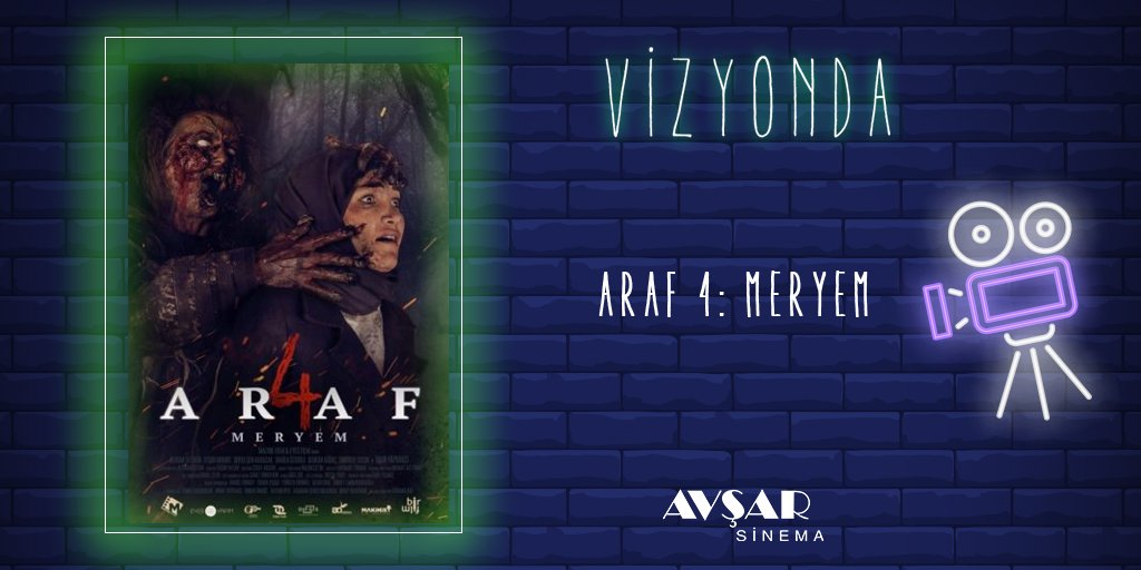 #Araf4Meryem, kaldığı evde tuhaf olaylara şahit olan genç bir kadının hikayesini konu ediyor.   Film #AvşarSinema salonlarında sizlerle..  Detaylar https://t.co/5ya9AxzQ15 adresini ziyaret edebilrsiniz. https://t.co/OkO706SmzW