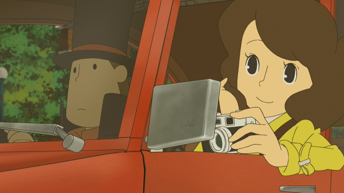 Layton Series On Twitter Did You Know Development Of The Game