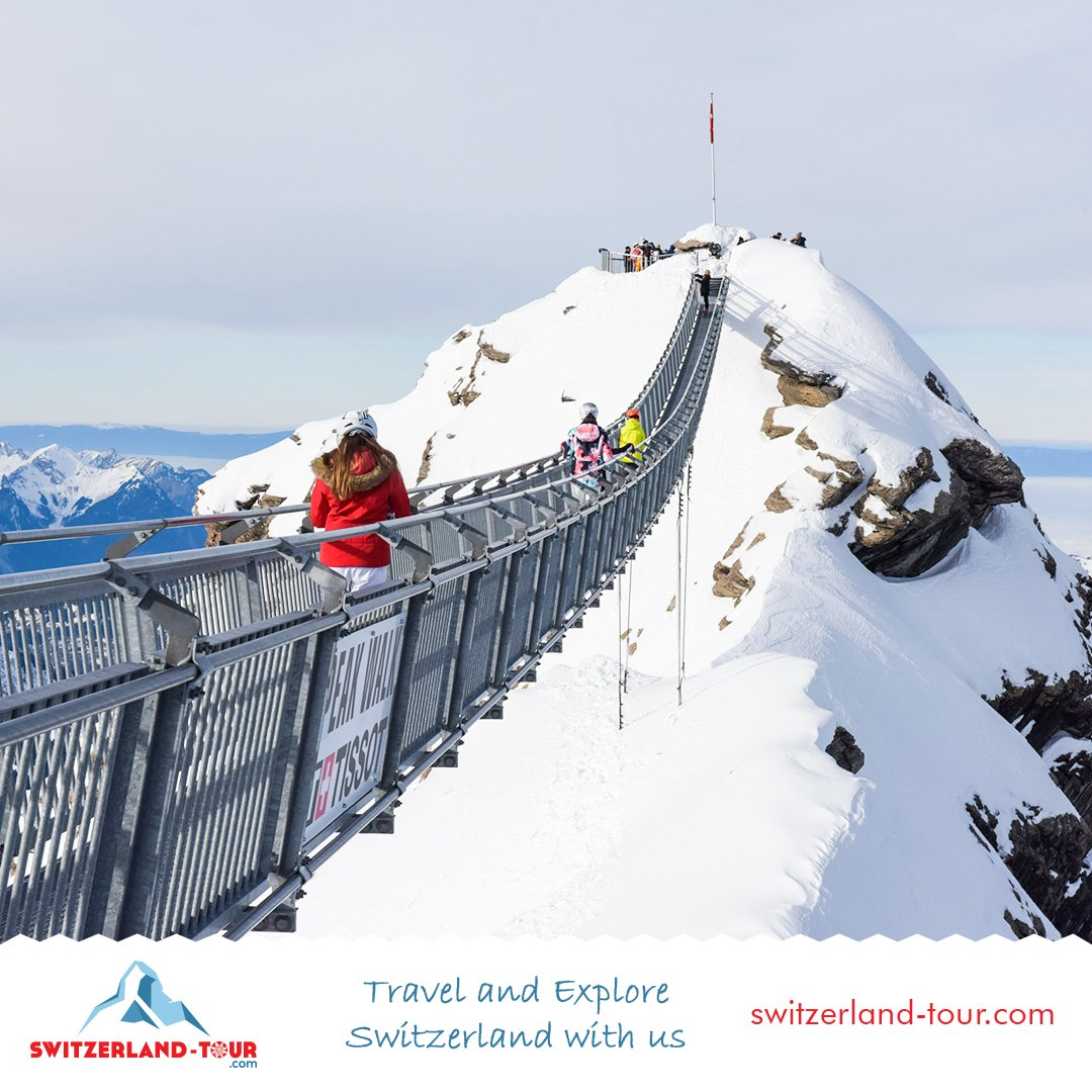 High-level experience in Glacier 3000, the Peak Walk by Tissot - world's only suspension bridge connecting two summits. Switzerland Tour for different private trips' experiences. #SwitzerlandTour #switzerlandtourism #switzerland #swissalps #privatetrip #glacier3000 #lesdiableretspic.twitter.com/k0EWBKD4Hg