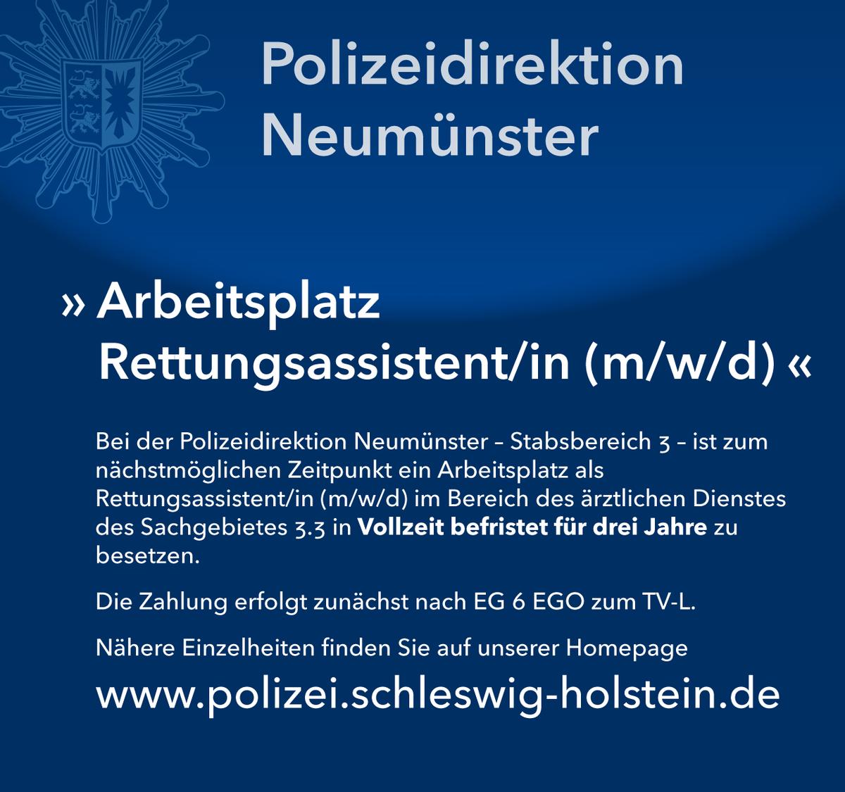 Polizei Schleswig Holstein Bewerbung Ausbildung
