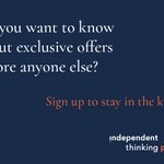 Image for the Tweet beginning: Sign up to our newsletter