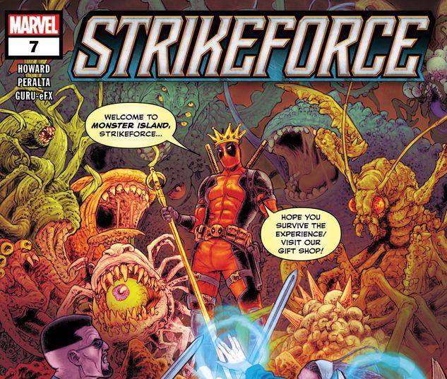 #Review: Strikeforce #7 @Marvel @Bracey452 #SCORE: 2/5 #comics http://ow.ly/lVG930qoMjFpic.twitter.com/feYnvePbGw