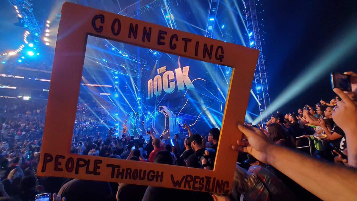 If @TheRock retweets this, we will give away two tickets to #WWEWrestlemania36   #ConnectingPeopleThroughWrestling #therock #wwewrestlemania #wrestlemania @SevenBucksProd #sevenbucksproductions