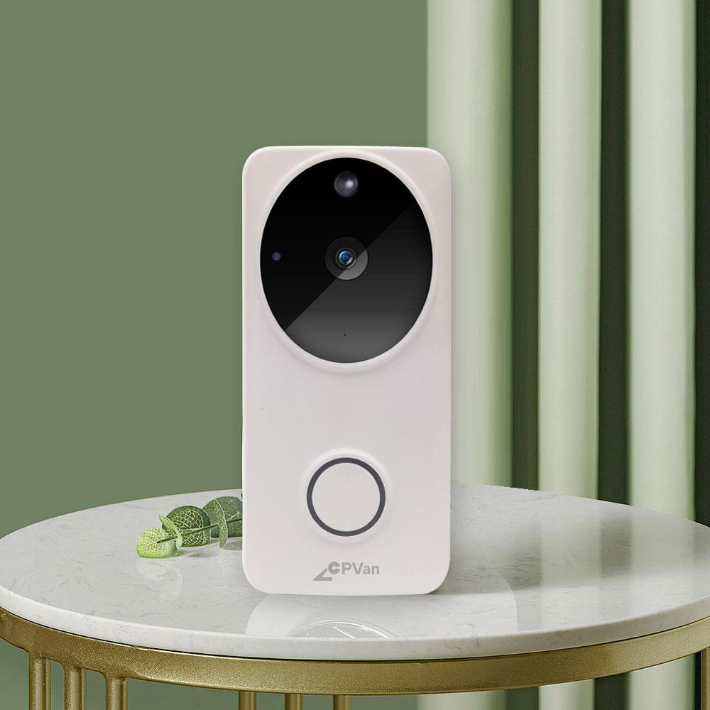 sonnette vidéo portier connecté interphone ring dahua hikvision arlo netatmo doorbird