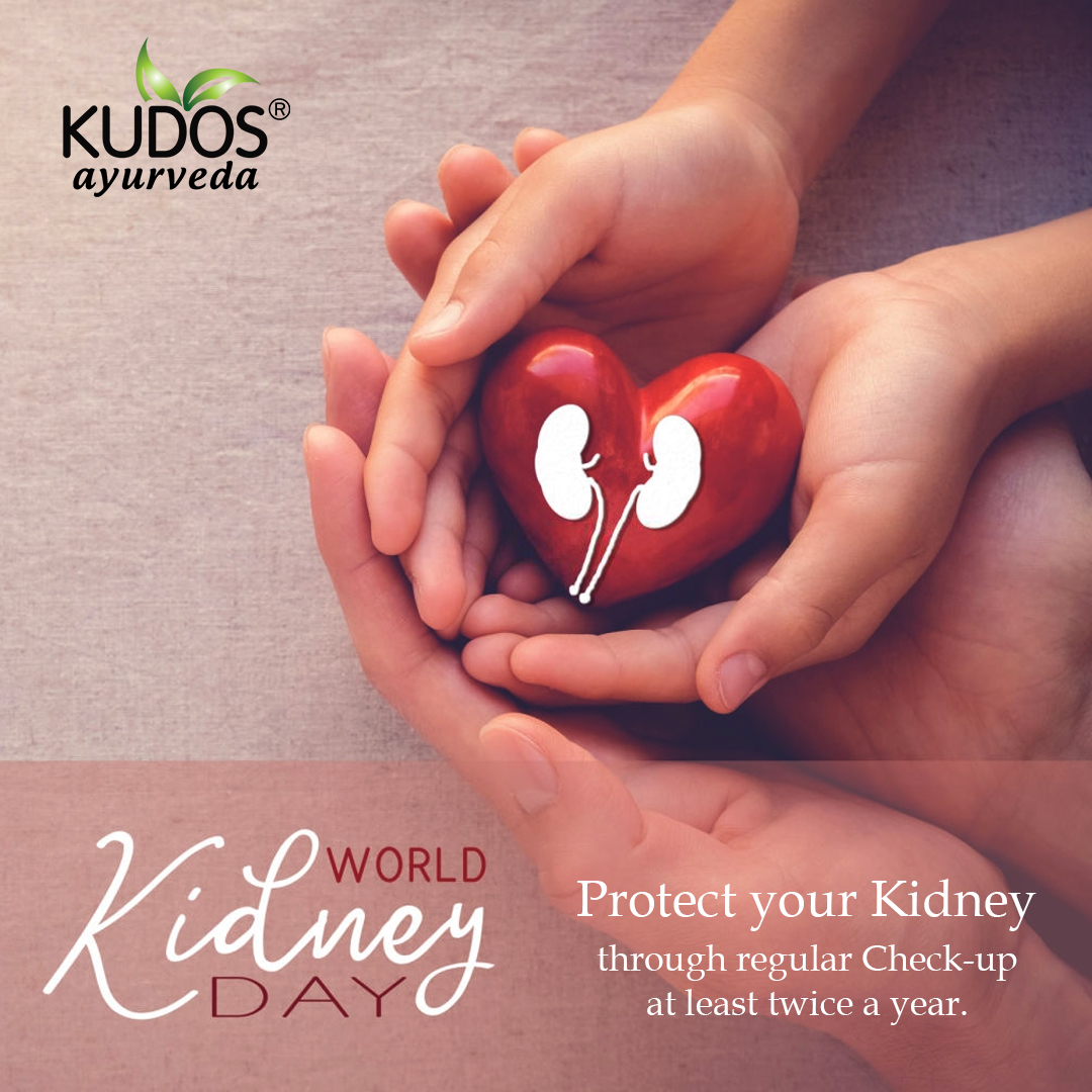 Kidney Disease can affect anyone but they can be treated in some people if recognized early. So, make sure you take good care of your entire health. #kidneyday #healthisimportant #kudosayurveda #nationalkidneyday #preventionisbetterthancure #kidneydisease  https://t.co/bubxmM3mIu https://t.co/9tx6DcHtLd