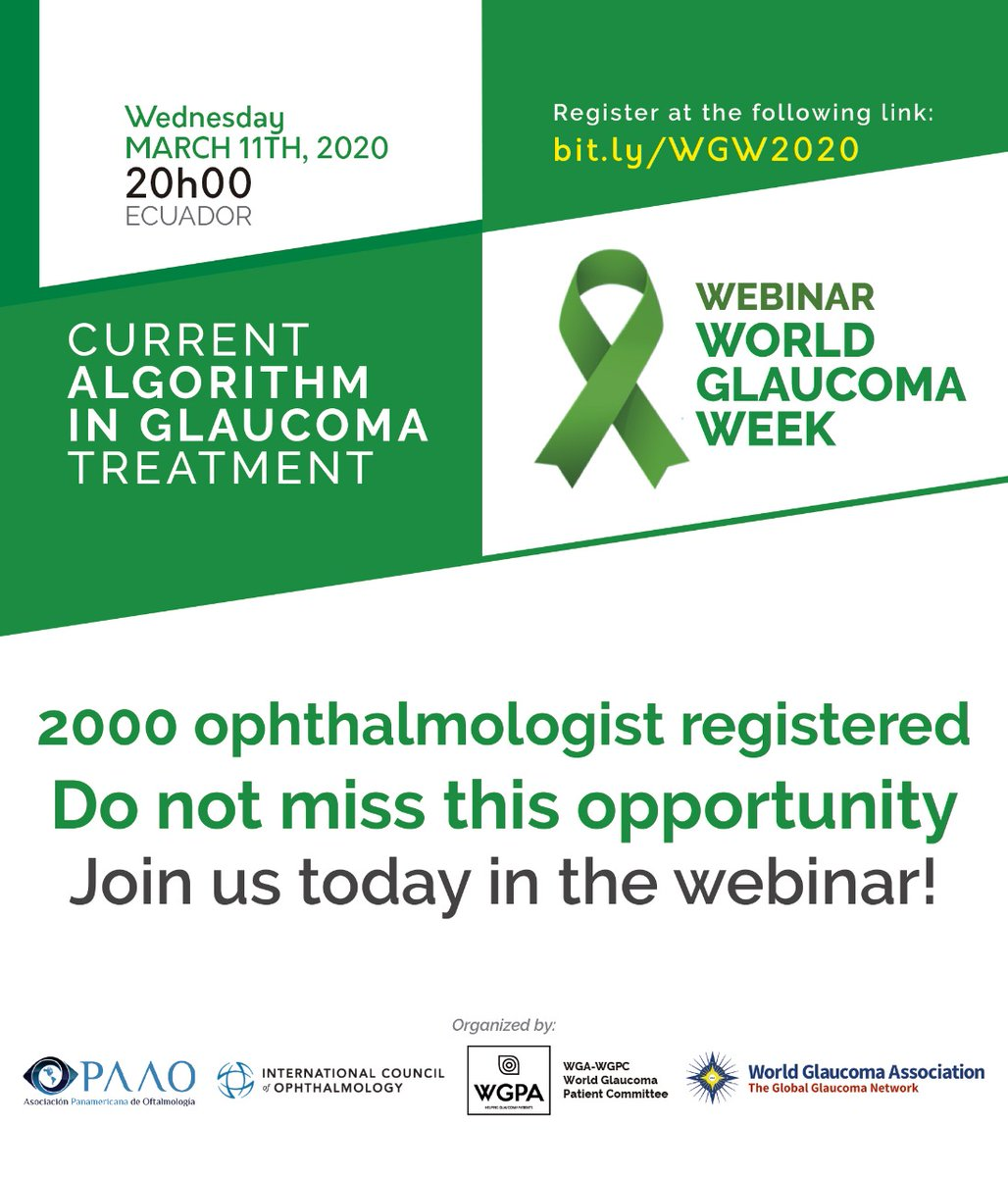 test Twitter Media - You are invited to join the webinar: Glaucoma: algoritmo actual de tratamiento today! Check https://t.co/jH6tq51jmu for more information. #glaucomaweek #WGW2020 https://t.co/bjAdOIPEFj
