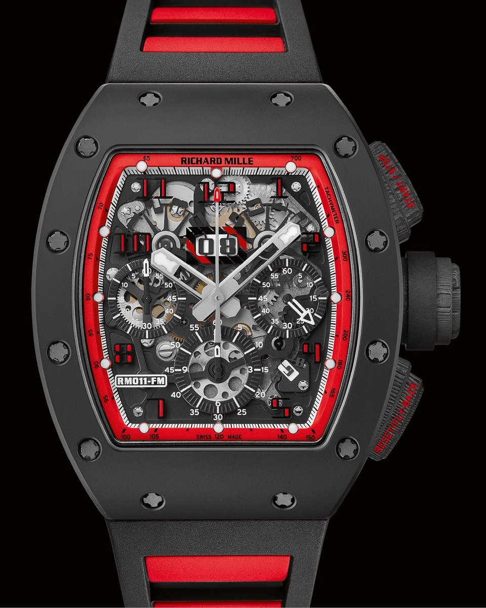 #historicalmodels The RM 011 took its inspiration from the high-tech engineering of F1 racing cars to deliver an uncompromising precision and a unique identity. #RichardMille #Felipe https://t.co/dlVyzSA1fI