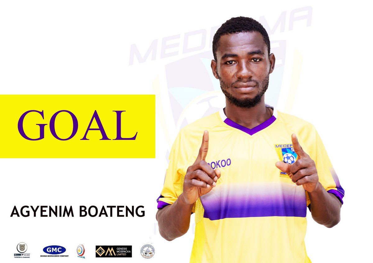 "Medeama SC on Twitter: ""Isaac Agyenim Boateng has doubled the lead against @Txiwonders Brilliant header!… """
