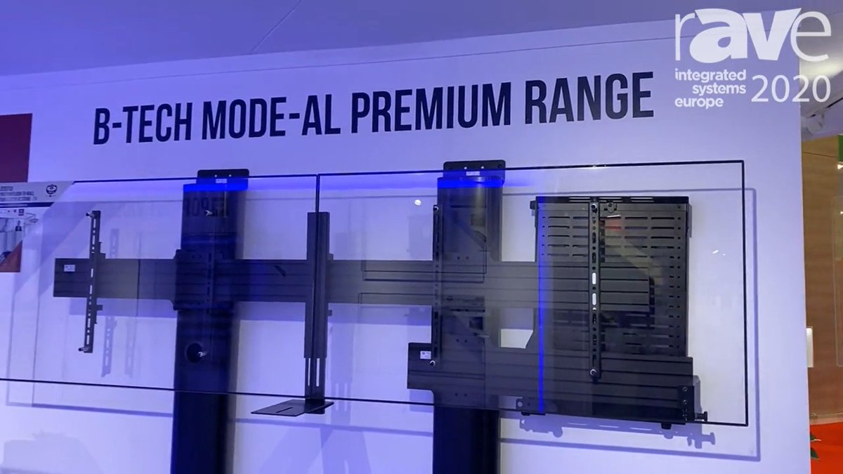 Flashback: This time last month at #ISE2020 we'd just unveiled our brand new Mode-AL Premium Range, including the BT7884 Flip Down AV Storage Tray. Here's a quick video recap #avtweeps #proav #avinstall  https://www.ravepubs.com/rave-video/ise-2020-b-tech-av-mounts-talks-mode-al-premium-range-including-bt7884-flip-down-av-storage-tray/… @rAVePubspic.twitter.com/cbHLDCglCo